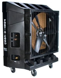 Industrial cooler 48 inch HP Single Speed
