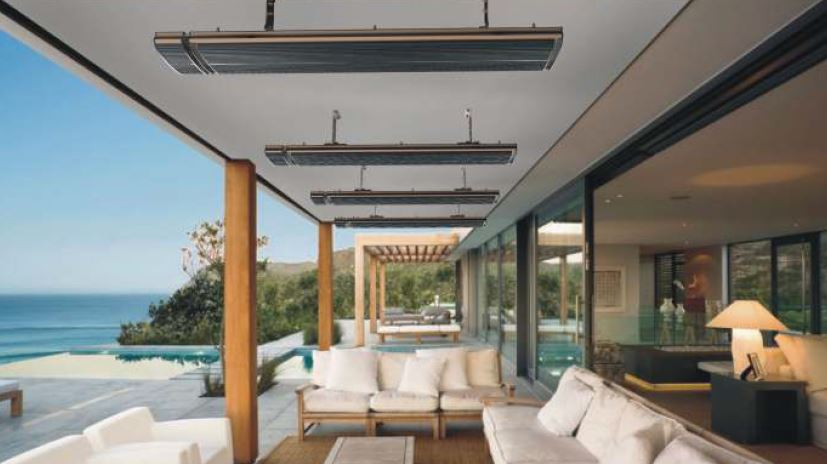 Outdoor electric heater